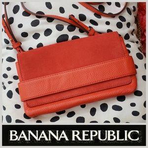 Banana Republic Leather/Suede Crossbody